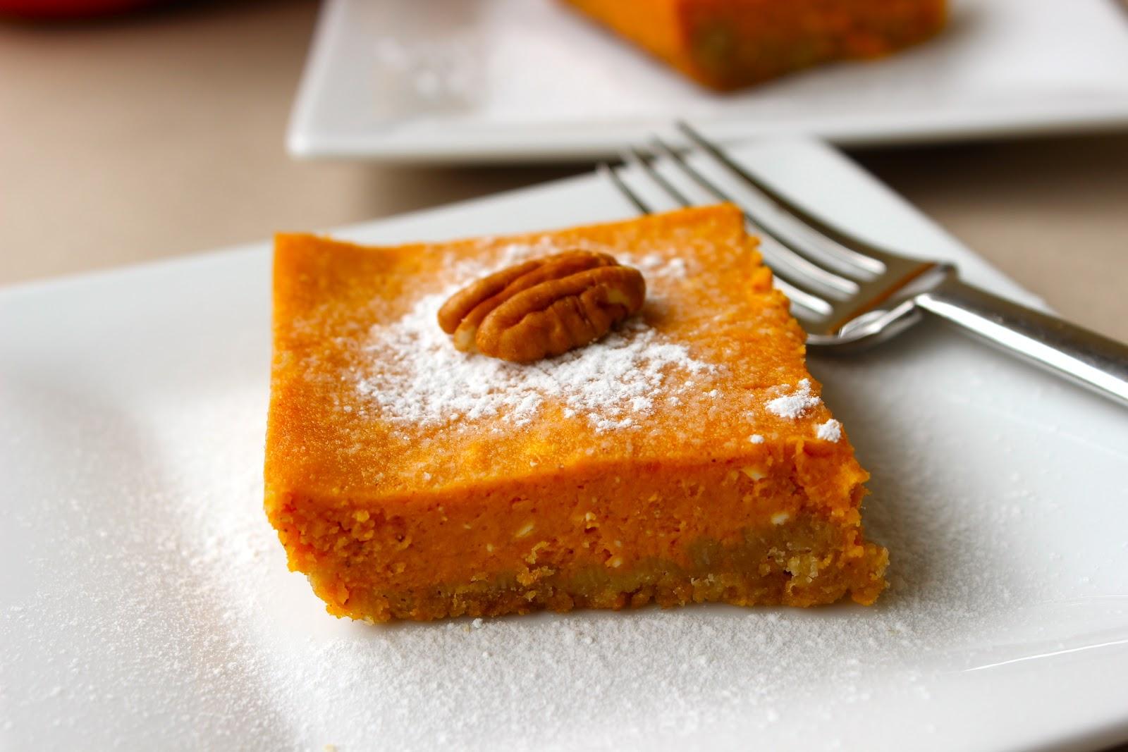 Low Calorie Christmas Cake Recipes: Low Fat Gooey Pumpkin Cake