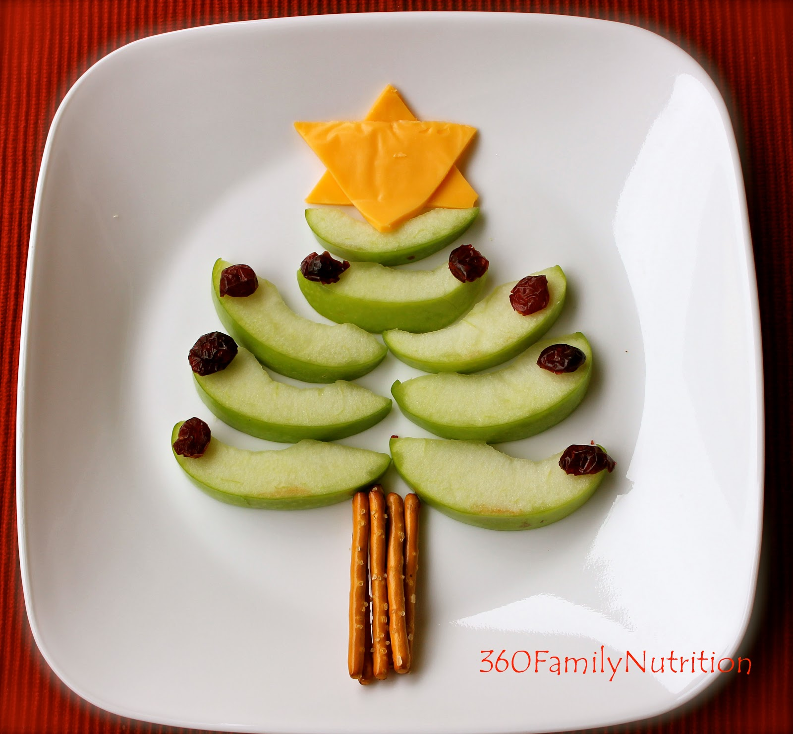 Healthy Christmas Tree Snack 360 Family Nutrition