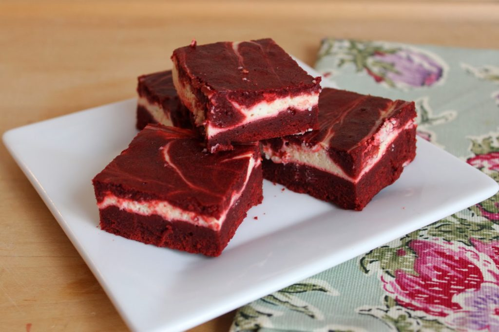 Healthier Red Velvet Cheesecake Brownies - 360 Family Nutrition