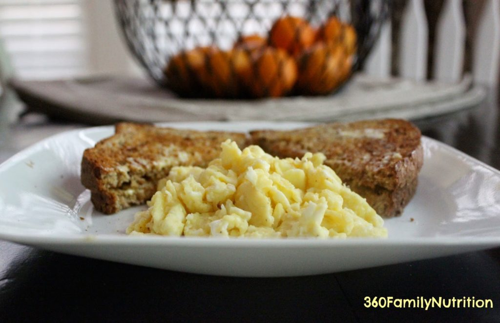The Best Lower Calorie Scrambled Eggs 360 Family Nutrition