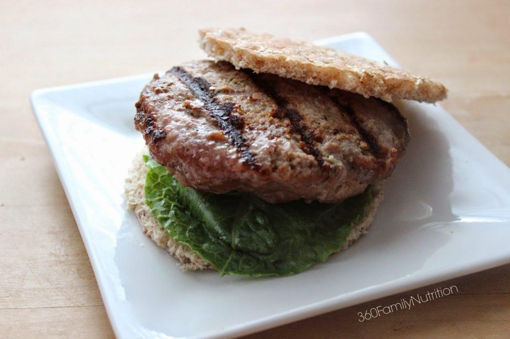 Honey Worcestershire Turkey Burgers 360 Family Nutrition