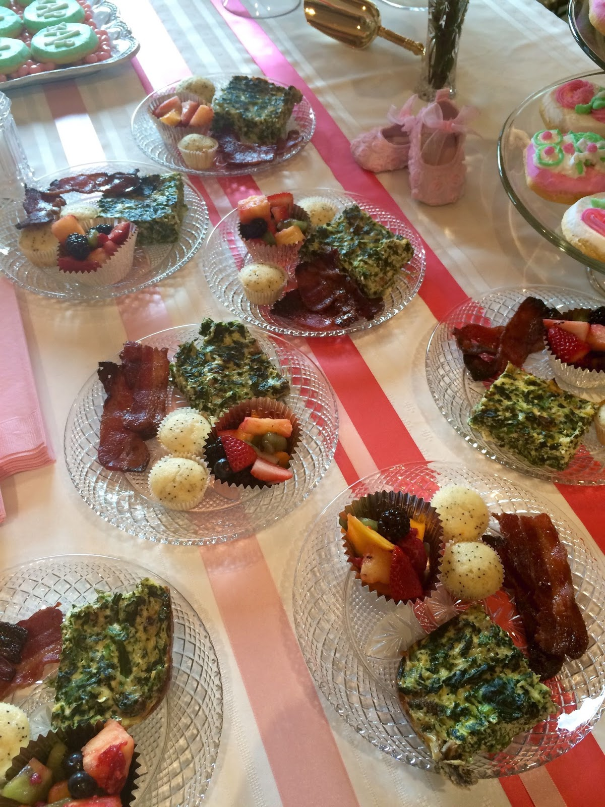 A Beautiful Shower For Baby Girl Bacon Recipe 360 Family Nutrition