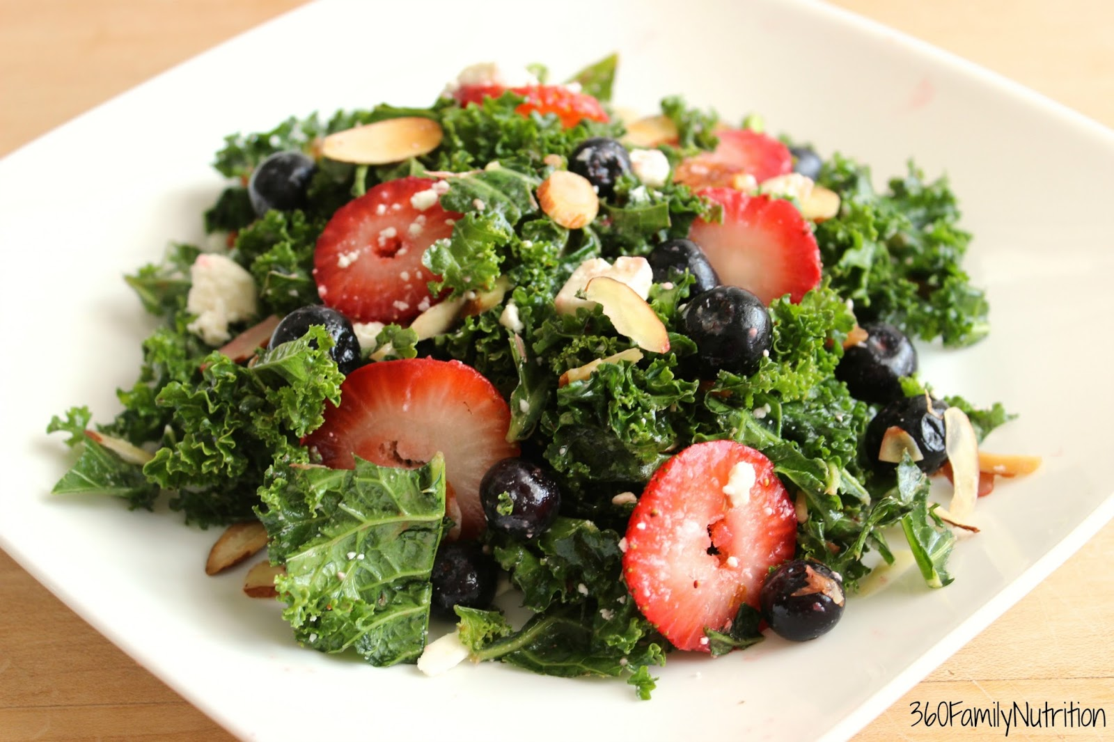 Red, White, and Green Salad