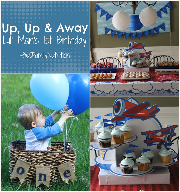 Up, Up & Away First Birthday Party