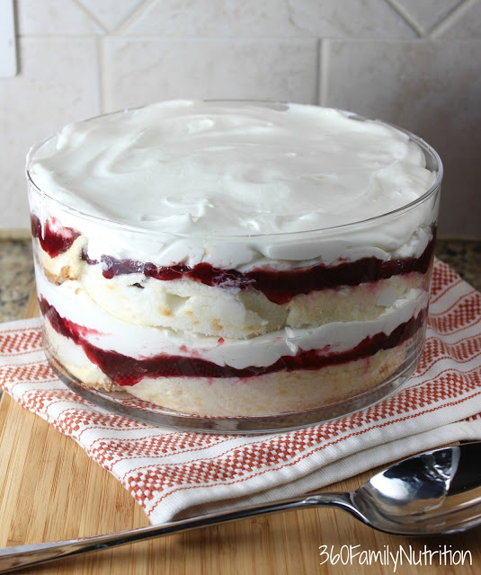 Healthier Cranberry Trifle + Holiday Dishes Television Segment
