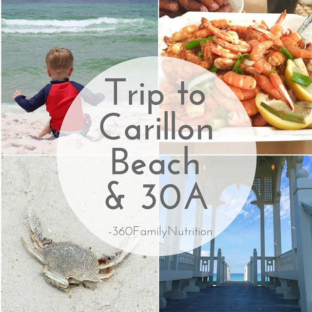 Trip to Carillon Beach & 30A