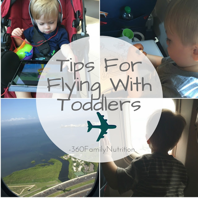 Tips For Flying With Toddlers