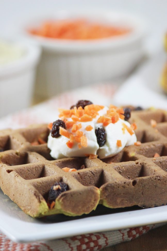GF Carrot Banana Waffle