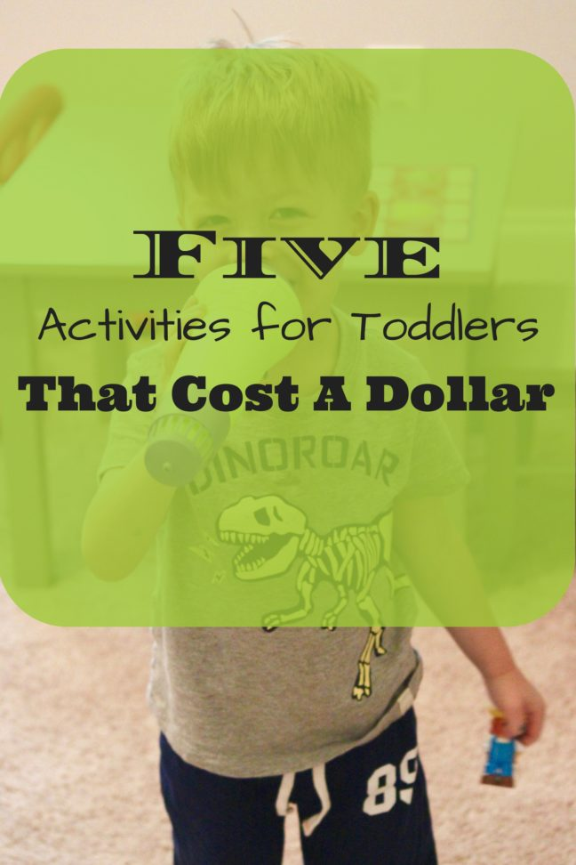 5 Dollar Store Finds for Toddlers