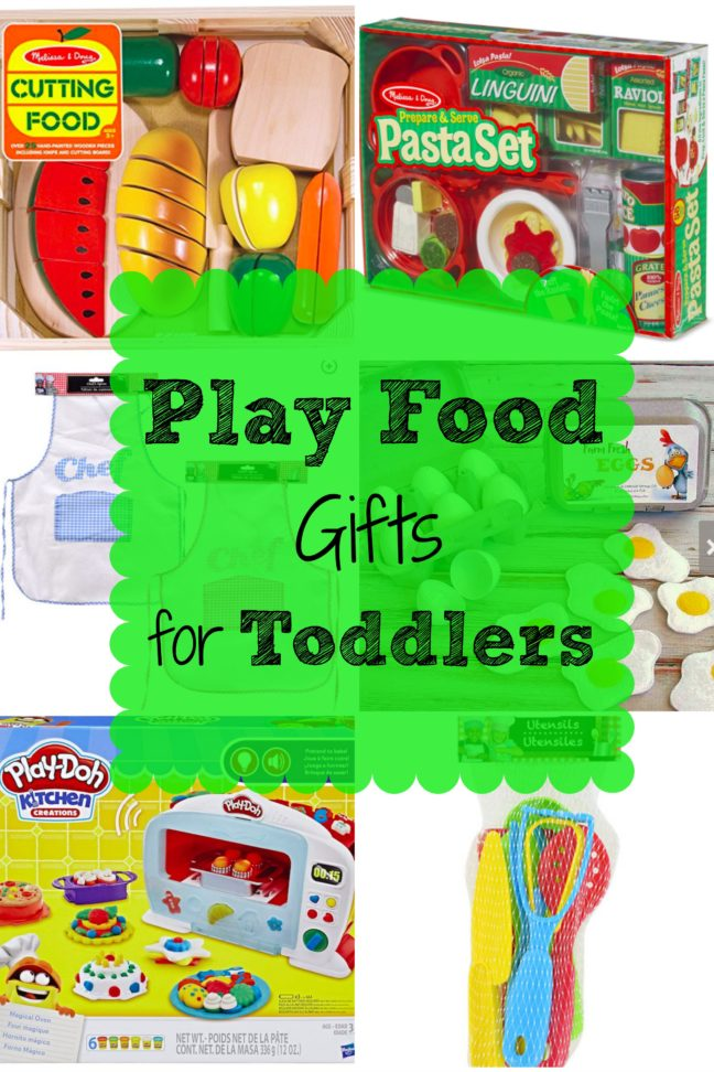 Play Food Gifts for Toddlers